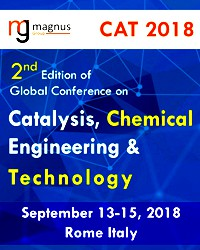 2nd Edition of Global Conference on Catalysis, Chemical Engineering & Technology (CAT 2018)