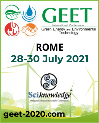 2020 International Conference on Green Energy and Environmental Technology