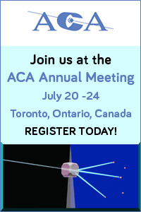 American Crystallographic Association - 2018 Annual Meeting